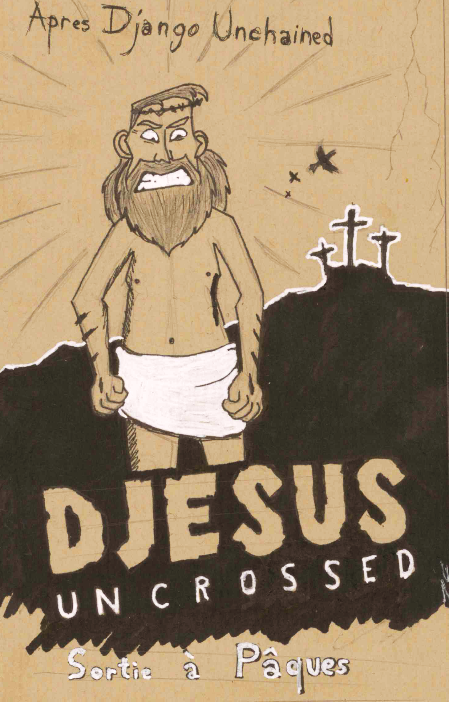 Djesus uncrossed